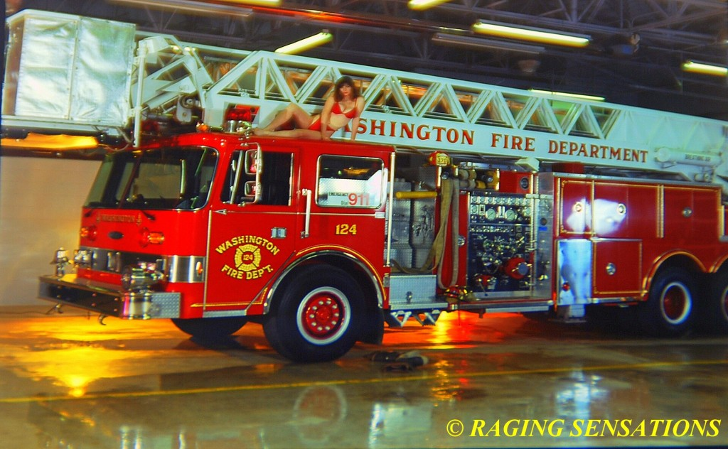 Washington Ladder Truck Babe 2