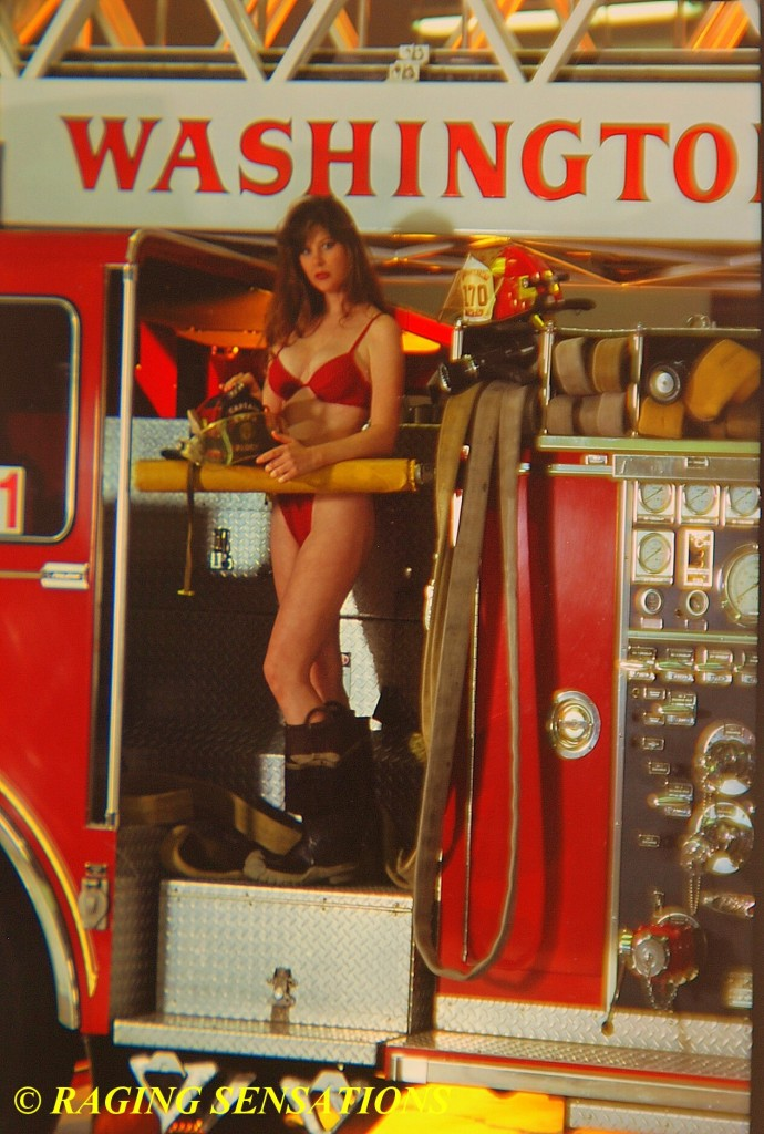 Washington Ladder Truck Babe