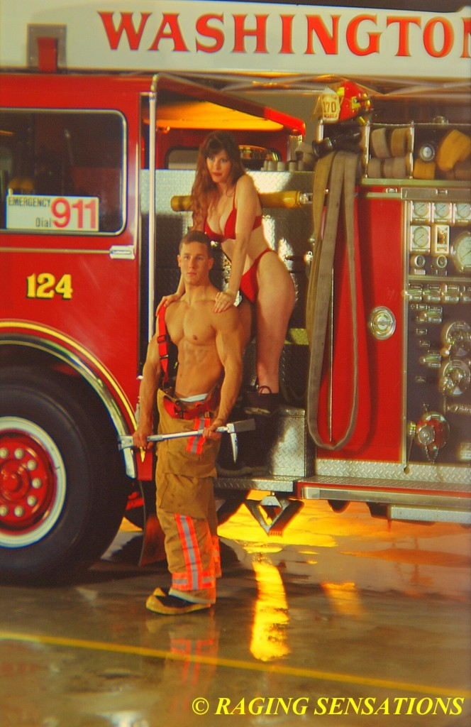 Washington Ladder Truck Babes 2