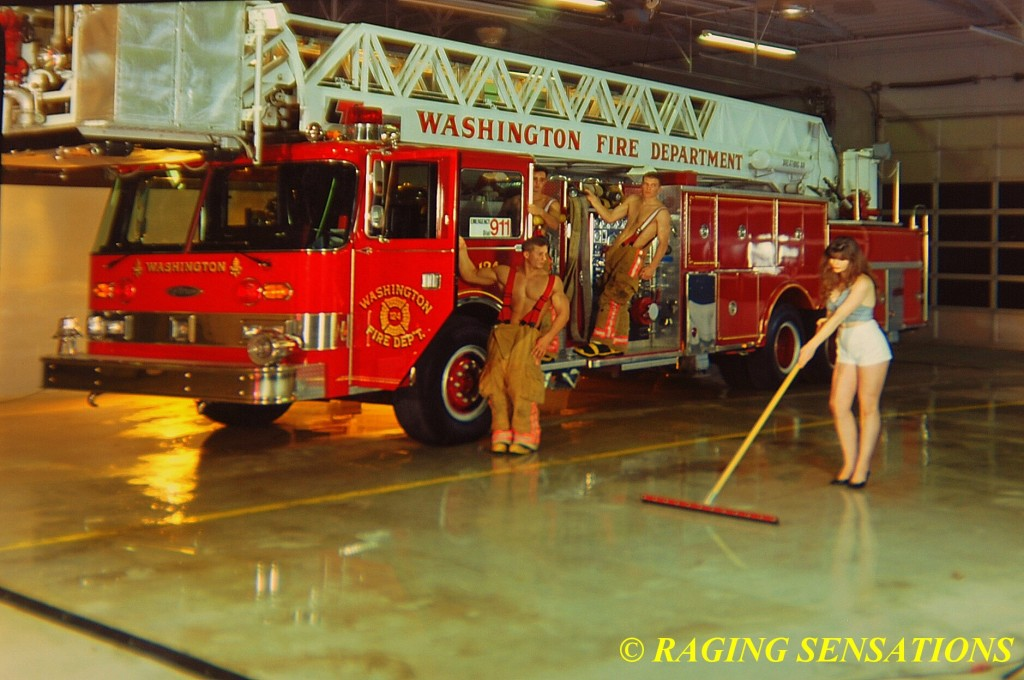 Washington Ladder Truck Babes 3