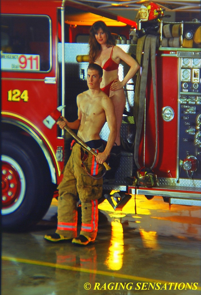 Washington Ladder Truck Babes 5