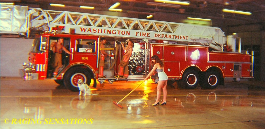 Washington Ladder Truck Babes 6
