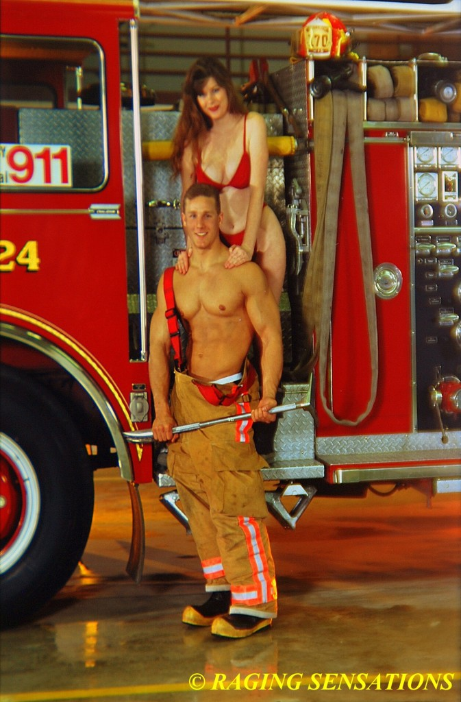 Washington Ladder Truck Babes