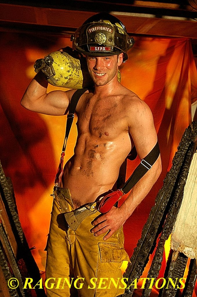 Firefighter Hunk Smiles 2
